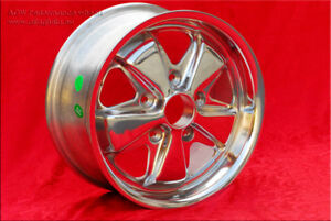 4 Fuchs 7x16 wheels for Volkswagen T2, T3 TUV