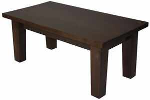 Amish/Mennonite Handcrafted Solid Wormy Maple Coffee Table Set