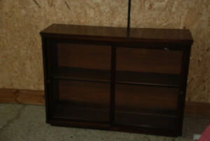 "VINTAGE 60's SHELF DISPLAY OR CABINET HOME OR RETAIL 41""x28""x12"""