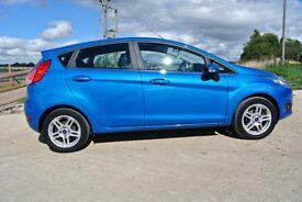 Ford Fiesta 1.5 TDCI ZETEC (blue) 2013