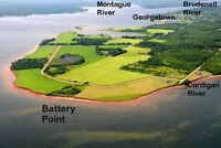 OCEAN FRONT PROPERTY FOR SALE - GEORGETOWN – PEI