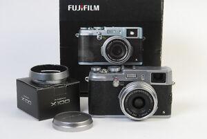 Fujifilm X100s Camera w/Box & Hood!