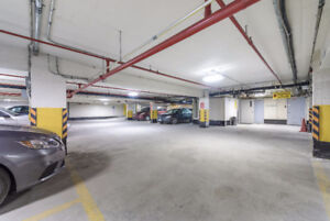 Indoor and outdoor parking auto garage near the airport