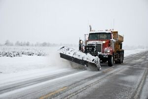 SNOW PLOW AND SALTER OPERATORS