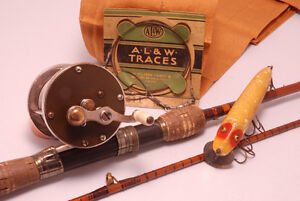 Old Fishing Reels and Tackle