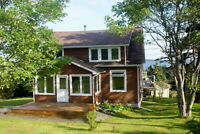Long Weekend Open House:  On the bay in St. Peters, Cape Breton