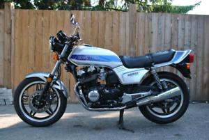 1981 Honda CB900F with low kms