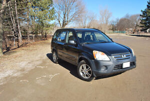 2005 Honda CR-V.  One owner.  Original paint.  No rust.  Low KMs