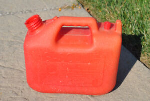 Wedco fuel plastic container used
