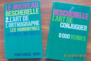 Livres pour améliorer son français  ( 2 livres ) BESCHERELLE