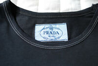 PRADA  Navy Blue Fitted T-Shirt (NEW with tags)
