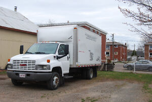 2008 GMC 4500 TRUCK WITH 16 FOOT BOX