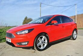 Ford Focus 1.0 ECOBOOST ZETEC 100PS (red) 2016