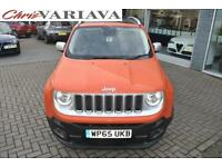 2015 Jeep Renegade M-JET LIMITED ** ELECTRIC PANORAMIC ROOF** Diesel orange Manu