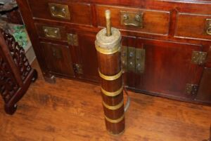 Tibetan So You Tong Antique Butter Churn 19th C