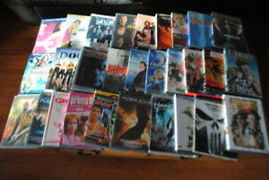 Lots of variety of DVD and VHS movies