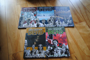 The Walking Dead Comics: Vol. 1-5