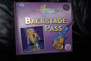 lot of hannah montana items books,posters,DS game and more