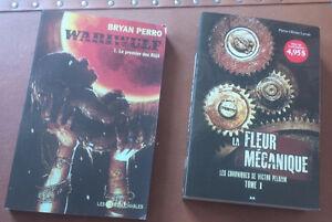 2 Romans: Wariwulf (Brian Perro) & La fleur mécanique