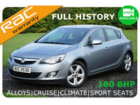 2010 Vauxhalll Astra SRI 1.6i 16v Turbo (180 BHP)|NEW MODEL|FSHISTORY|6 MTHS WAR