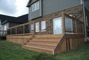 Fence Stair Siding And Deck Building Services In