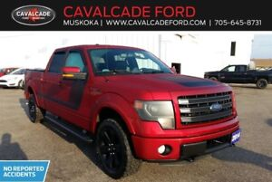 2014 Ford F150 4x4 Supercrew Fx4 with leather seats, roof, nav!