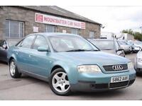 1998 Audi A6 Saloon 1.8 T Petrol Manual 4 Door Saloon Blue Green