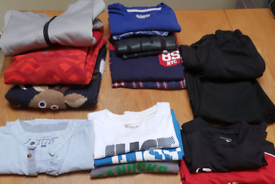 Bundle of 7/8 years old boy clothes
