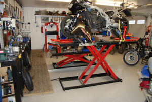 AFFORDABLE MOTORCYCLE SERVICE SHOP  TOWING  PRE - SAFETY  REPAIR