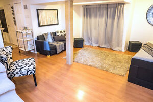 Beautiful 1 bedroom Basement Apartment with Separate Entrance