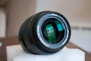 Nikon Nikkor 18-55mm AF DX ED Zoom Lense