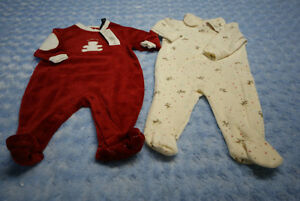 Baby Unisex Christmas Tommy Hilfiger & Joe OnePiece Size 3-6 Mth