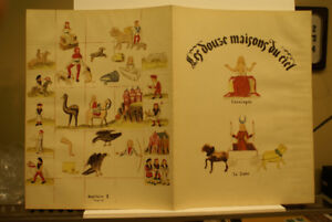 The 12 mansions of heaven 1937 Verve Vol.1 No 1 lithographs.