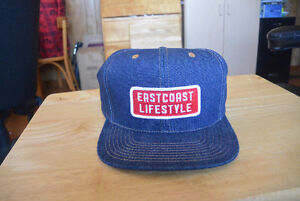 East Coast Lifestyle Snapback - Denim and Patch