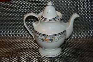 MIKASA NEW PROVINCIAL CV954 BASKET OF FRUIT TEA OR COFFEE POT 9""
