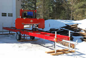 PORTABLE SAWMILLS STARTING AT 4995$ MADE IN CANADA