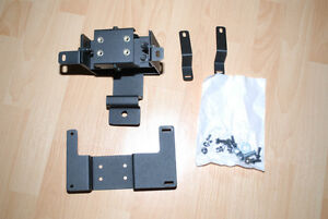 ROCKWELL COLLINS MFD POLICE VEHICLE MOUNT FOR MFD, MONITORS,