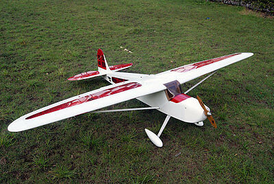Arf Giant Scale - 110in Giant Scale 20cc-30cc Gas Aviator-Pro RC Sports/Trainer Airplane ARF Kit