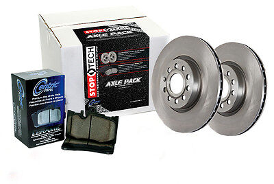 Rear Brake Rotors + Pads for 2010-2012 Subaru OUTBACK 2.5I PREMIUM
