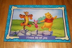 Winnie the Poo large wooden wall art