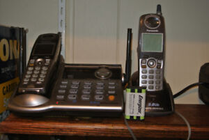 PANASONIC KX-TG5562 CORDLESS PHONE SET