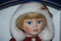 """Porcelain Doll 16"""" Handcrafted Collectors Edition"""