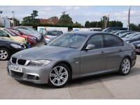 2009 E90 BMW 3 SERIES 2.0 318I M SPORT 4 DOOR SALOON GREY MANUAL PETROL 141 BHP