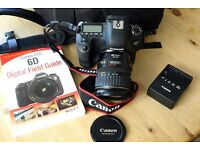 Immaculate Canon EOS6D full frame body with genuine battery grip