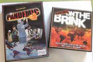 Pandemic (1st Edition) board game + On The Brink expansion