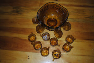 Punch Bowl/Cups