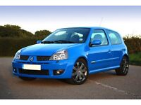 Wanted, Clio 182 Cup