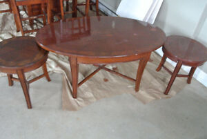 3 pieces of coffee table