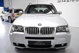 2007/57 BMW X3 3.0SD AUTO M SPORT, PAN ROOF, SAT NAV, HUGE SPEC, FULL HISTORY