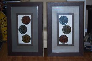 solid wood frame artwork